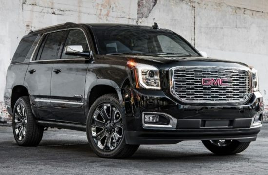 GMC Yukon Denali Ultimate Black 003 550x360 at 2018 GMC Yukon Denali Ultimate Black Edition