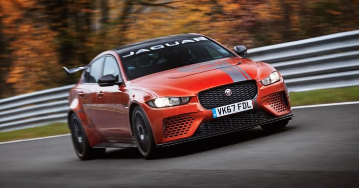 J SVO XE SV Project8 19MY Nurburgring record 2 730x383 at Jaguar XE SV Project 8 Smashes Nurburgring Record for Sedans