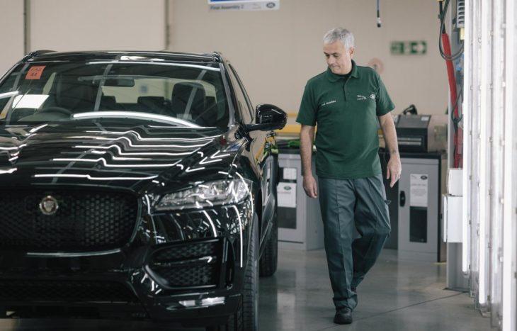 José Mourinho Jaguar F Pace 1 730x467 at José Mourinho Becomes 100,000th Jaguar F Pace Buyer, Helps with the Build