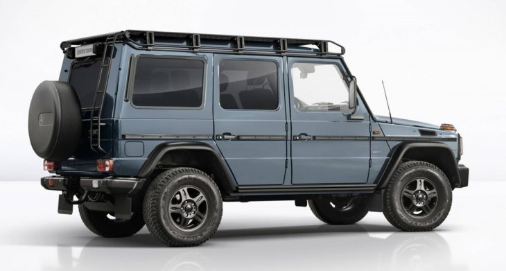 Limited Edition Mercedes G Class 1 730x391 at Limited Edition Mercedes G Class Models Mark End of Production
