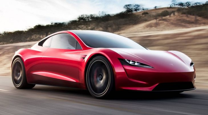 New Tesla Roadster 1 730x404 at New Tesla Roadster Unveiled, Set for 2020 Launch