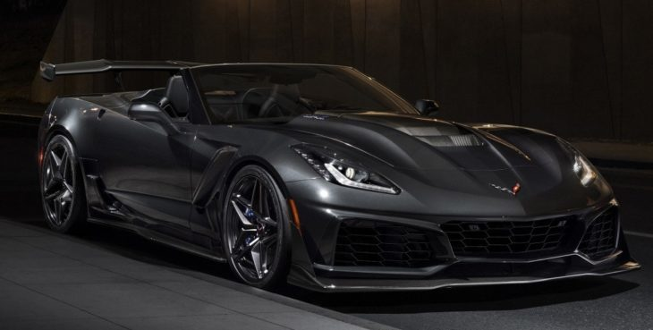 chevrolet corvette zr1 convertible 1 730x369 1 730x369 at First 2019 Corvette ZR1 Convertible to Be Auctioned for Charity