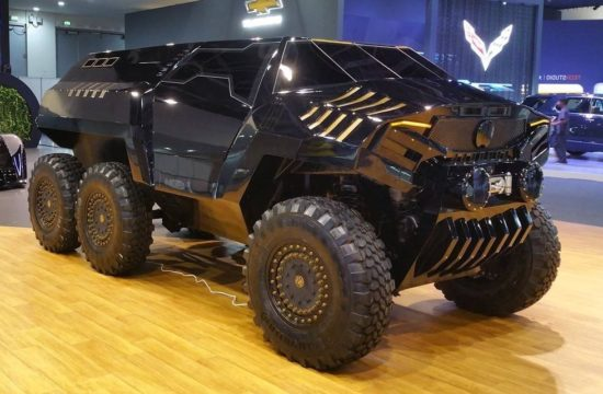 devel sixty 6x6 suv 1 550x360 at Devel Sixty 6x6 SUV Has 700 hp, Insane Looks