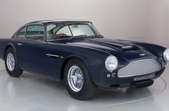 1959 Aston Martin DB4 1 550x360 at Unique 1959 Aston Martin DB4 Up for Grabs