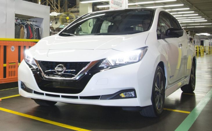 2018 Nissan LEAF Production 1 730x450 at 2018 Nissan LEAF Production Begins in Tennessee