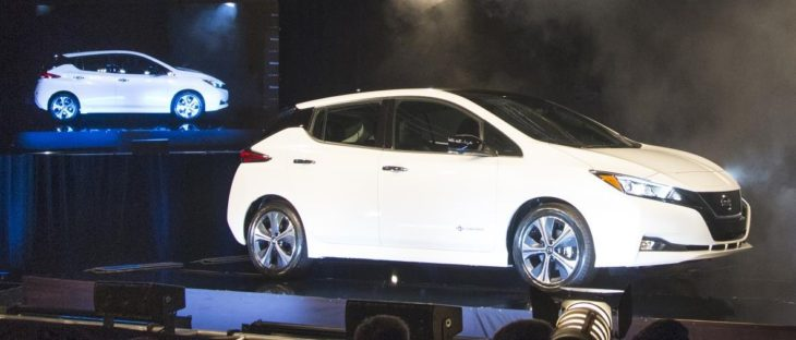 2018 Nissan LEAF Production 2 730x312 at 2018 Nissan LEAF Production Begins in Tennessee