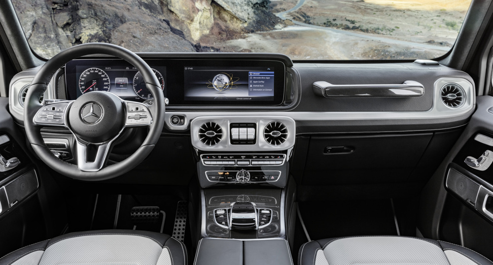2019 G Wagen >> 2019 Mercedes G-Class Interior Revealed in Official Photos