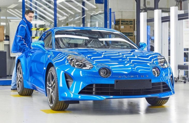 Alpine A110 Production 0 730x473 at Alpine A110 Production Gets Underway in France