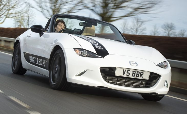 BBR 1.5 ND Turbo Front 730x446 at BBR Mazda MX 5 ND Stage 1 Turbo Upgrade Offers 210 bhp