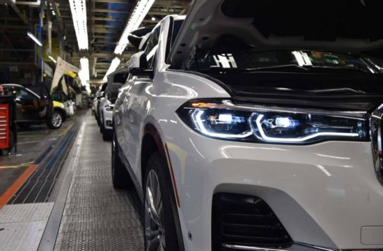 BMW X7 Pre Production 1 550x360 at 2019 BMW X7 Pre Production Begins at Spartanburg Plant