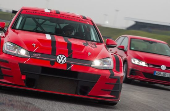 Golf GTI TCR 1 550x360 at 2018 VW Golf GTI TCR Gets a Facelift