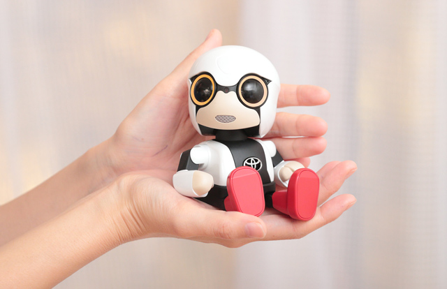 Kirobo Mini at Japanese Car Makers and Their Love of Robots