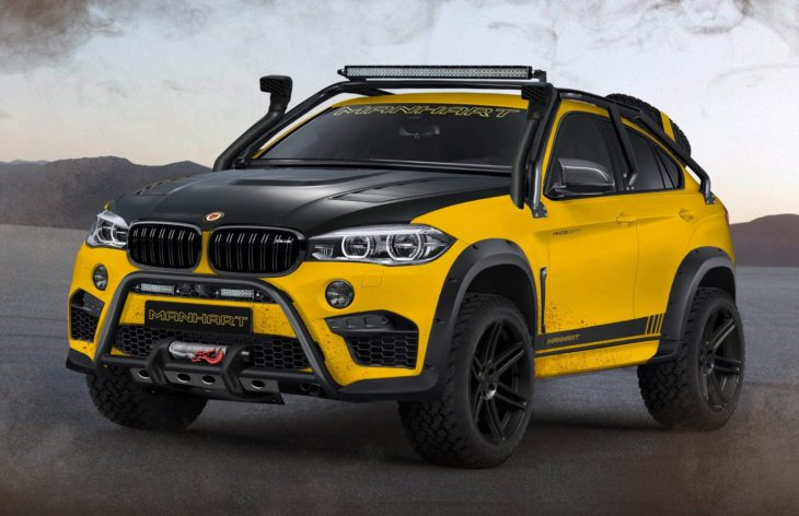 Manhart MHX6 Dirt 1 730x472 at Manhart MHX6 Dirt² Is BMW X6Ms Offroad Cousin