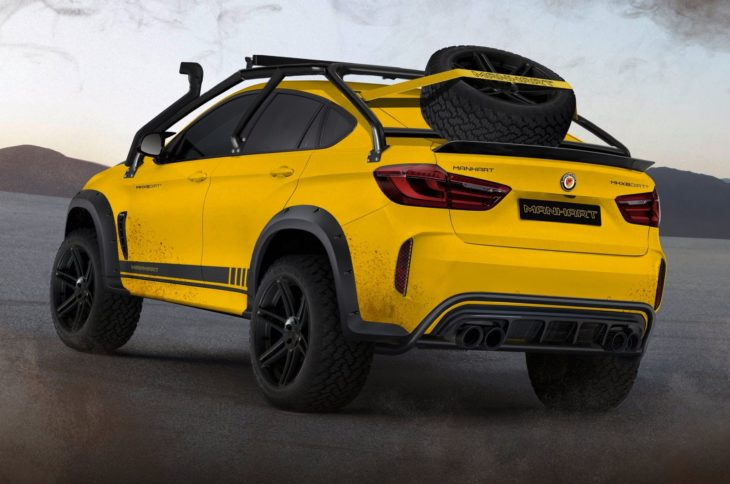 Manhart MHX6 Dirt 2 730x484 at Manhart MHX6 Dirt² Is BMW X6Ms Offroad Cousin