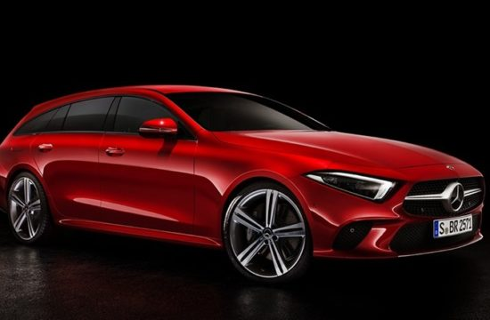 Mercedes CLS Renders top 550x360 at 2019 Mercedes CLS Rendered in a Bunch of Guises