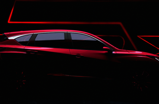 RDX Prototype Teaser top 550x360 at All New 2019 Acura RDX to Debut at NAIAS