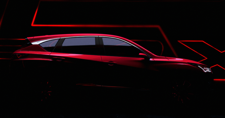 RDX Prototype Teaser top 730x382 at All New 2019 Acura RDX to Debut at NAIAS