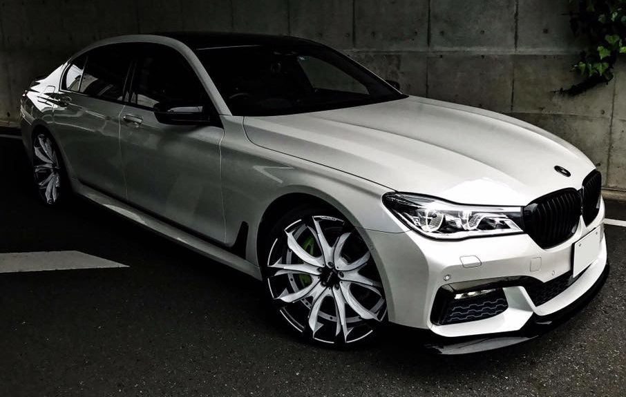 Mercedes Glc Coupe Tuning >> Wald BMW 7 Series Black Bison G11 and G12