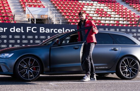 fc barcelona audi cars 1 550x360 at FC Barcelona Footballers Get New Audi Cars