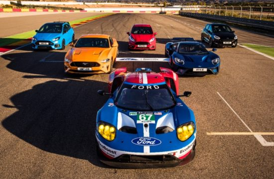 118 Ford Motorland 550x360 at Eight Ford Performance Models Hit The Track for a Friendly Match