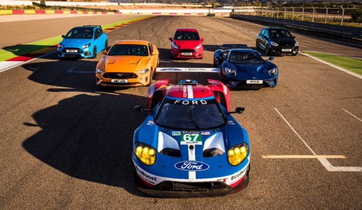 118 Ford Motorland 730x423 at Eight Ford Performance Models Hit The Track for a Friendly Match