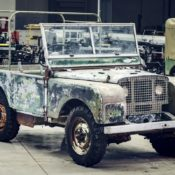 1948 Land Rover 175x175 at 1948 Land Rover Launch Model Headed for Restoration