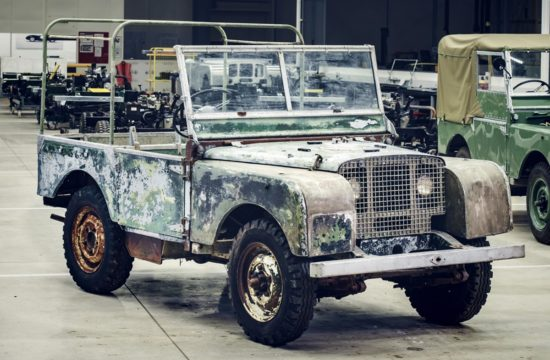 1948 Land Rover 550x360 at 1948 Land Rover Launch Model Headed for Restoration