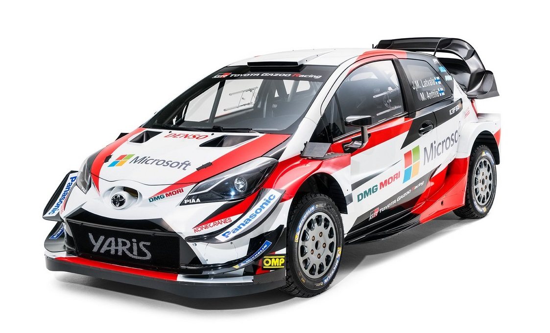 Car Brands That Start With D >> 2018 Toyota Yaris WRC Rally Car Unveiled