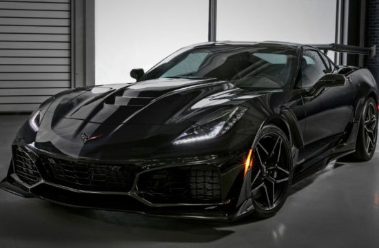 2019 Chevrolet Corvette ZR1 012 550x360 at First 2019 Corvette ZR1 Sells for $925K, Bushs 65 Goes for $1.4 M