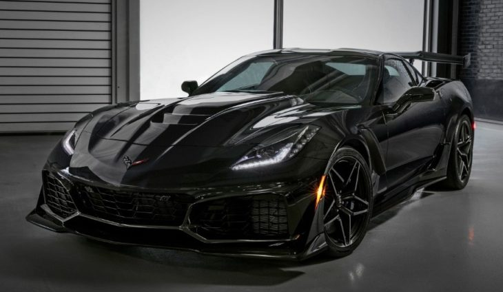2019 Chevrolet Corvette ZR1 012 730x424 at First 2019 Corvette ZR1 Sells for $925K, Bushs 65 Goes for $1.4 M