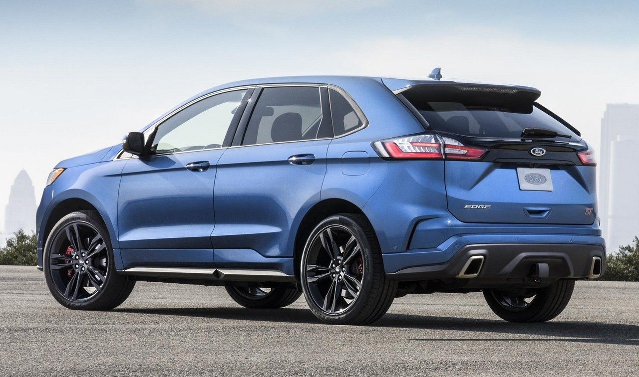 2019 ford edge st unveiled with 335 horsepower. Black Bedroom Furniture Sets. Home Design Ideas