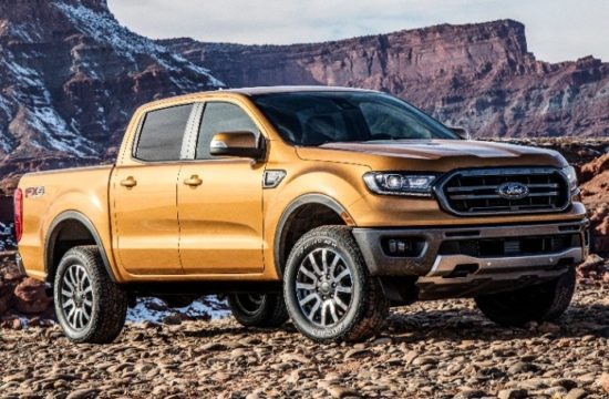 2019 Ford Ranger 1 550x360 at 2019 Ford Ranger Revealed with New Looks, More Tech