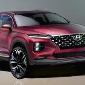 2019 Hyundai Santa Fe render1 175x175 at 2019 Hyundai Santa Fe Revealed in First Commercial