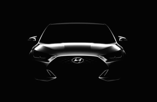 2019 Hyundai Veloster Preview 1 550x360 at 2019 Hyundai Veloster Previewed Inside and Out