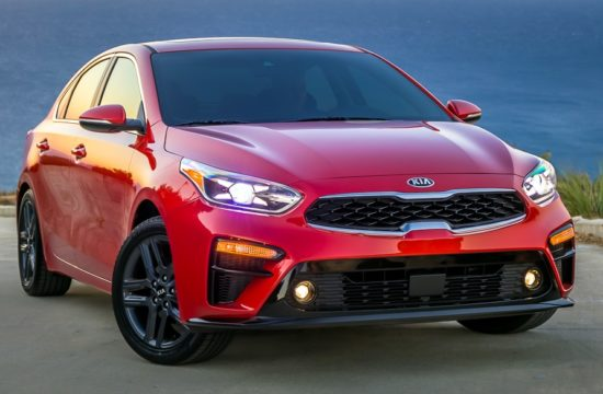 2019 Kia Forte 1 550x360 at 2019 Kia Forte Unveiled Boasting Heavy Stinger Influence