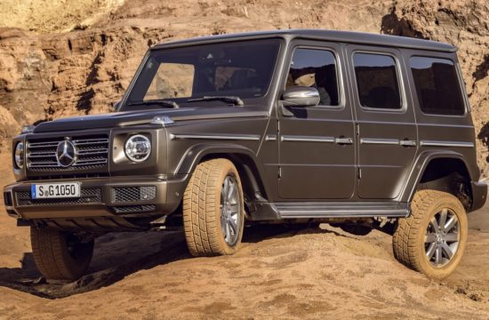 2019 Mercedes G Class 1 1 550x360 at 2019 Mercedes G Class Goes Official in Detroit