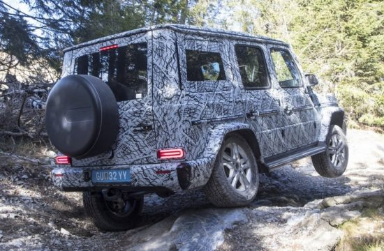2019 Mercedes G Class 10 550x360 at 2019 Mercedes G Class   First Official Details and Pictures