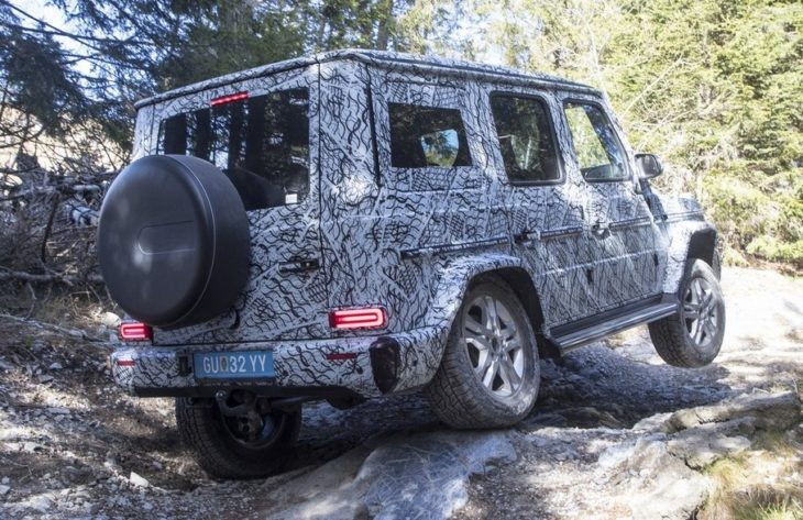 2019 Mercedes G Class 10 730x473 at 2019 Mercedes G Class   First Official Details and Pictures