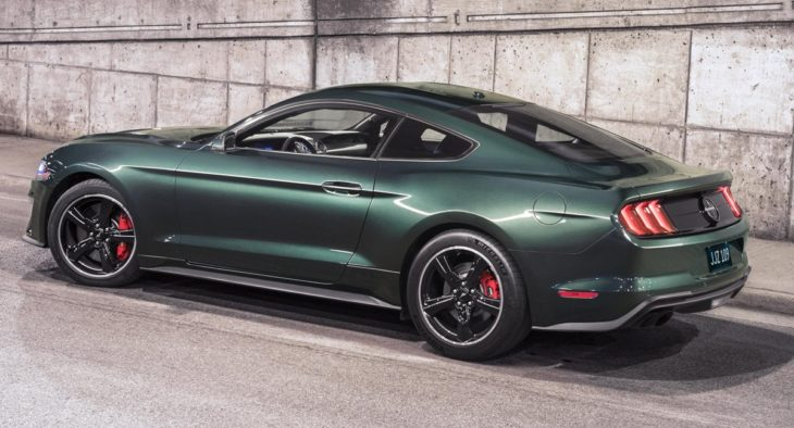 2019 Mustang Bullitt 2 1 730x394 at First 2019 Ford Mustang Bullitt Headed for Auction