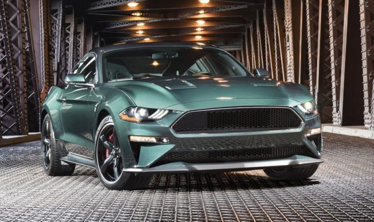 2019 Mustang Bullitt 3 730x433 at First 2019 Ford Mustang Bullitt Headed for Auction