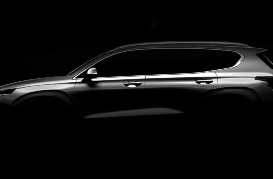 2019 hyundai santa fe 550x360 at New Hyundai Santa Fe (2019) Confirmed for Geneva Debut