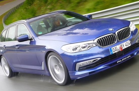 ALPINA B5 Bi Turbo 1 550x360 at 2018 Alpina B5 Bi Turbo Priced from £89,000 in the UK