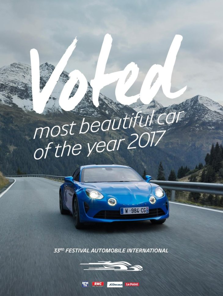 Alpine A110 Named Most Beautiful Car of 2017 2 730x970 at Alpine A110 Named Most Beautiful Car of 2017