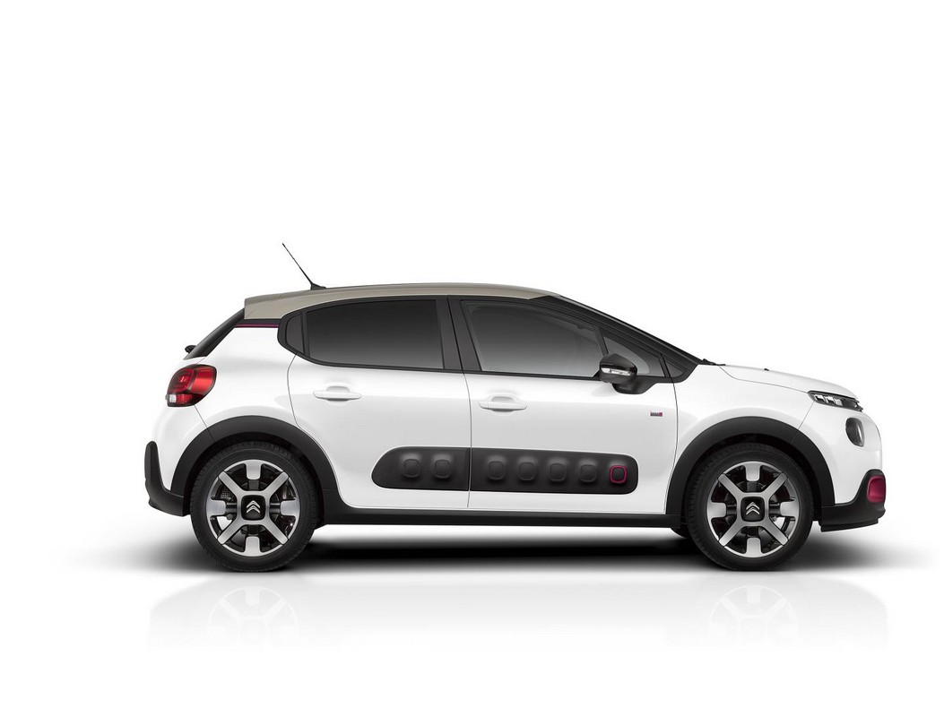 2018 citroen c3 elle special edition has cherry pink accents. Black Bedroom Furniture Sets. Home Design Ideas