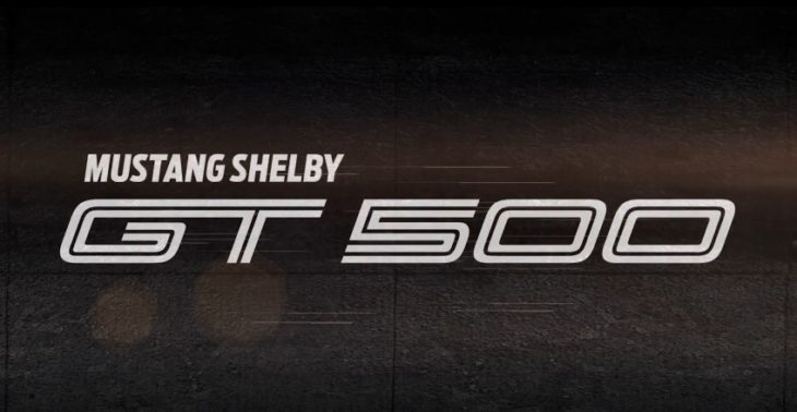 GT500 2019 730x378 at In the Works: Ford Mach1 Electric SUV and New Shelby GT500