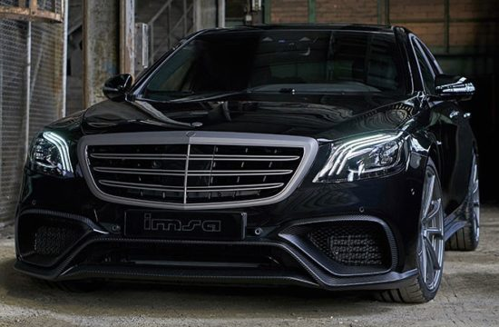 IMSA Mercedes AMG S63 1 550x360 at IMSA Mercedes AMG S63 Packs a 720 hp Punch