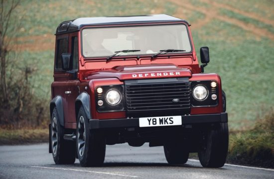 Land Rover Defender Works 0 550x360 at Land Rover Defender Works V8 Is an Homage to the Original