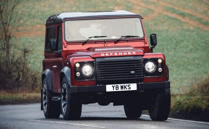 Land Rover Defender Works 0 730x452 at Land Rover Defender Works V8 Is an Homage to the Original
