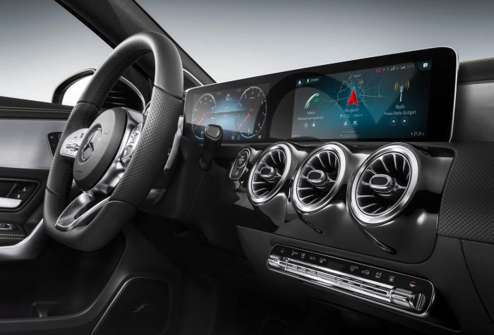 MBUX 1 at Mercedes Benz User Experience (MBUX) Unveiled at CES 2018