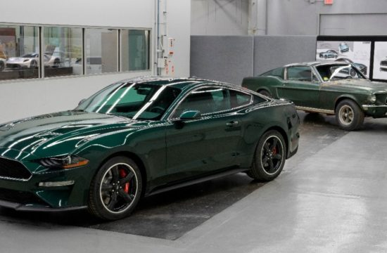New 2019 Mustang Bullitt with original Bullitt movie Mustang 550x360 at 2019 Ford Mustang Bullitt Fetches $300,000 at Charity Auction